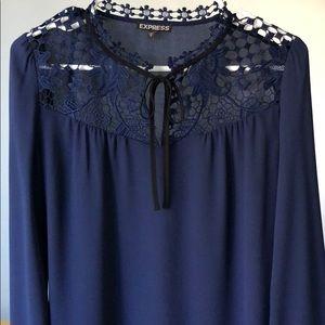 Express blouse (Navy)